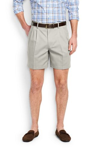 Mens Traditional Fit Everyday Chino Shorts - 32 Lands End