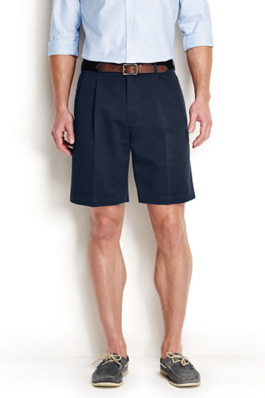 Mens Cargo Chino Shorts - 34 - Green Lands End Prices Online Sale New PTCDWS