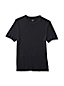 Men's Regular Short Sleeve Silk Thermal Crew neck