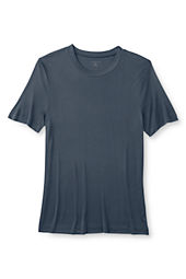 Men's Short Sleeve Silk Interlock Crew Top
