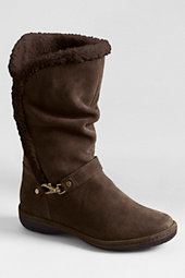 Women's Suede Chalet Pull-on Boots