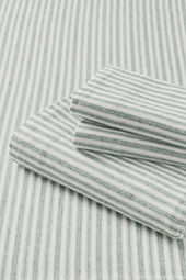 5-oz Flannel Yarn Dye Striped Pillowcases