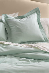 Four-season Organic Cotton Flannel Solid Sham