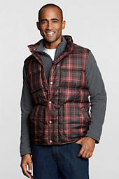 Men's Pattern Down Vest