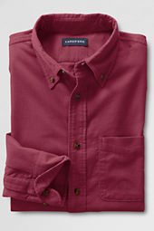 Men's Long Sleeve 21-wale Refined Corduroy Shirt