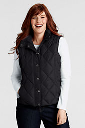 Women's Diamond Quilted Down Vest