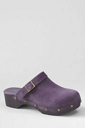 Girls' Skylar Suede Clogs