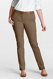 Women's Plus Size Fit 2 Tapered Leg Stretch Chino Pants