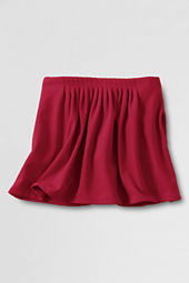 Girls' Pleat Front Ponté Skort