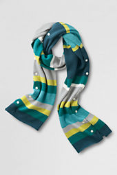 Women's Super Soft Colorblock Scarf