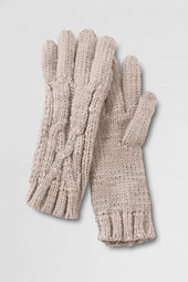 Women's Handknit Aran Gloves
