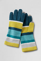 Women's Super Soft Colorblock Gloves