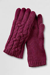 Women's Popcorn Cable Gloves