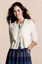 Canvas Women's Angora Wool Cardigan