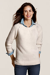 Canvas Women's Donegal Crewneck Sweater