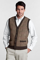 Men's Pattern Shorewood Button Vest