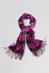 Women's Plaid CashTouch Scarf