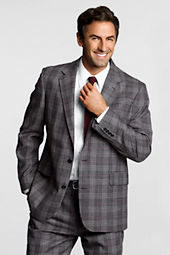 Men's Traditional 2-button Pattern Flannel Jacket