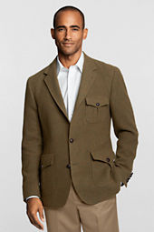 Men's Tailored Fit Wool Melange Two-button Jacket