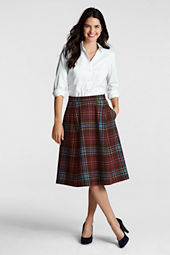 Women's Blanket Plaid Skirt