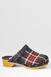 Girls' Skylar Pattern Shearling Clogs