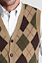 Dark Camel Heather Argyle Thumbnail 1