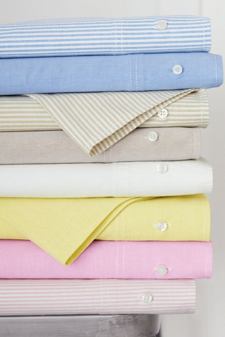 Oxford Solid Pillowcases