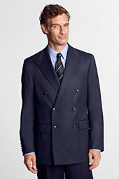 Men's Traditional Wool Cashmere 6-button Admiral Jacket