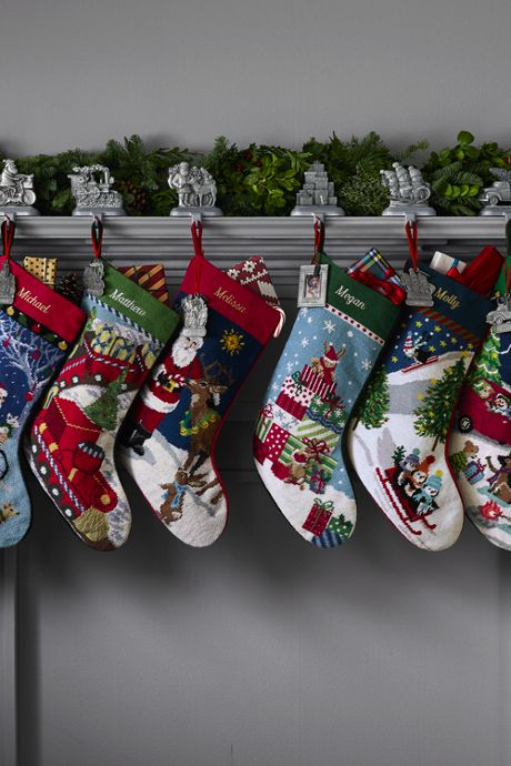 Classic Christmas Stocking Holder