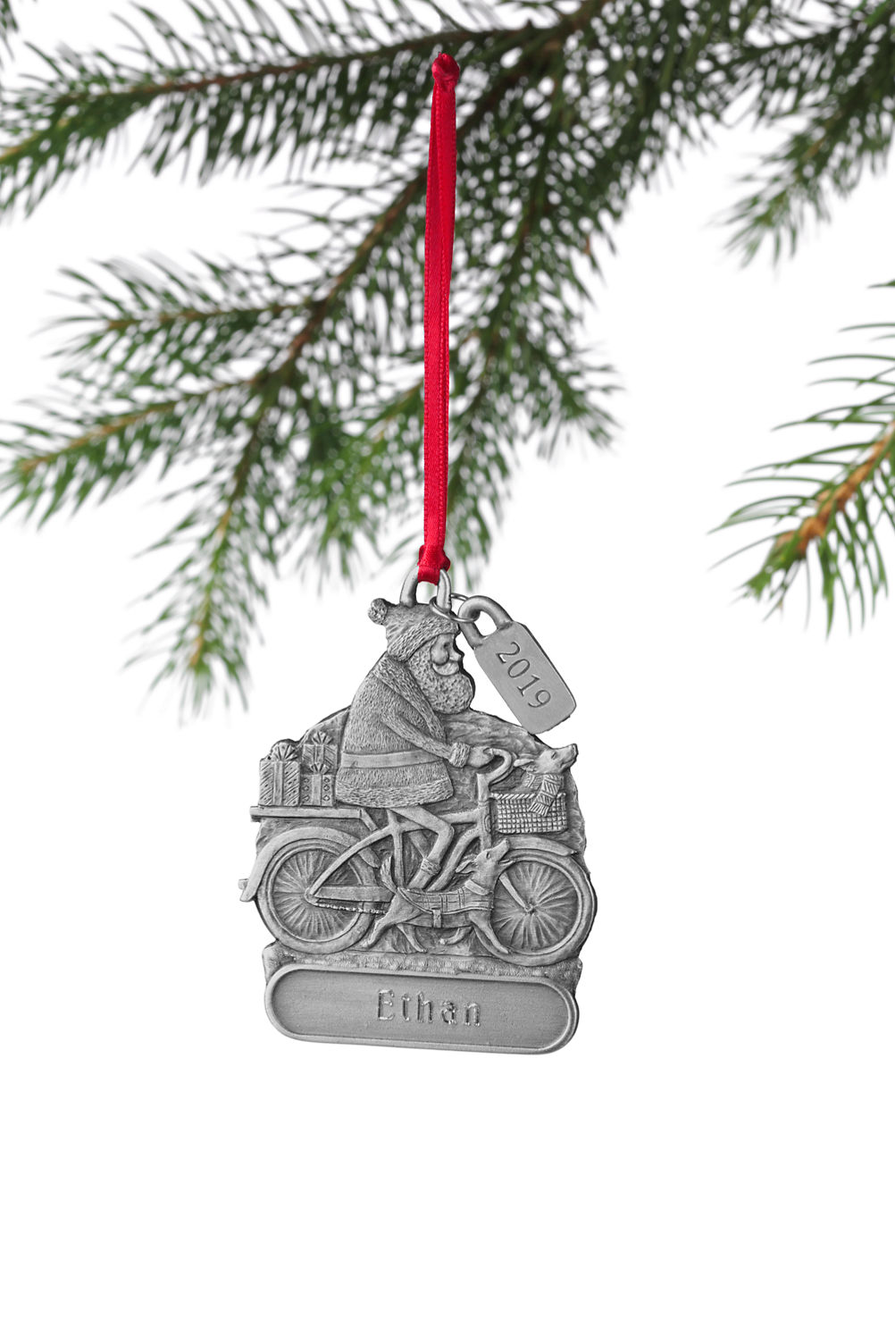 Personalized Christmas Ornament from Lands\' End