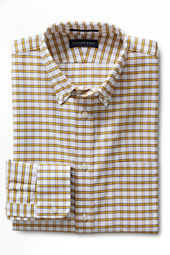 Men's Tailored Fit Pattern Supima Hyde Park Buttondown Shirt