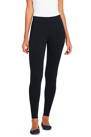 01a3b2ea3a1af1 Women's Starfish Refined Stretch Jersey Ultimate Leggings | Lands' End
