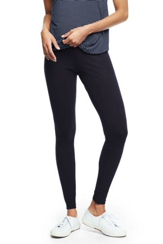 f89c3c41 Women's Starfish Refined Stretch Jersey Ultimate Leggings | Lands' End