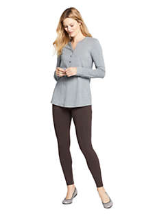 Women's Starfish Mid Rise Knit Leggings, Unknown