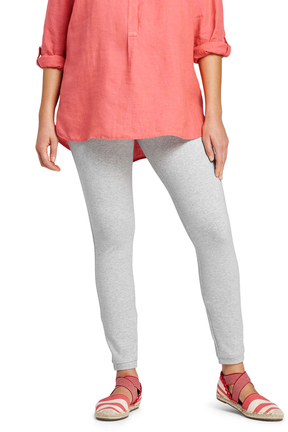 61f6a63dce6c7 Women's Starfish Cotton Spandex Leggings from Lands' End