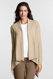 Women's Plus Size Solid FeelGood Drape Cardigan Sweater