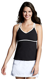 Women's Sport Tankini X-back Tankini Top