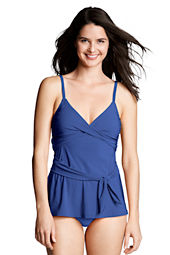 Women's Lela Beach V-neck Tankini Top