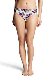 Women's Lela Beach Floral Mid Rise Swimsuit Bottom