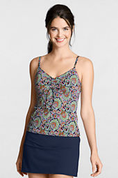 Women's Beach Living Paisley Scoop Tankini Top