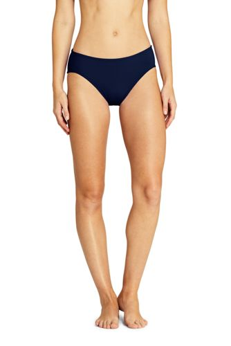 f2c4d0d7f25d9 Women s Mid Waist Bikini Bottoms from Lands  End
