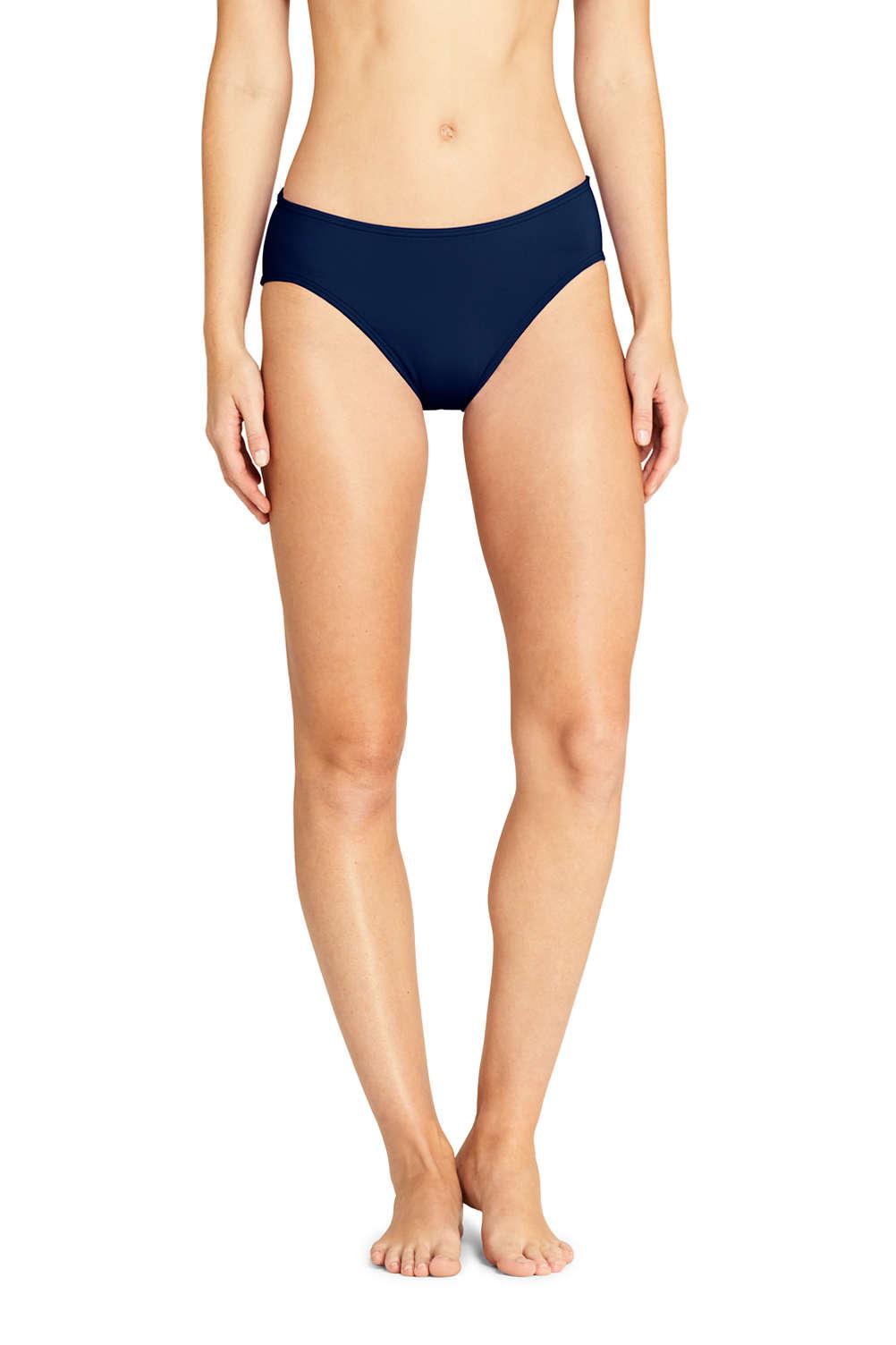 1e9d819af1df Women's Mid Waist Bikini Bottoms from Lands' End