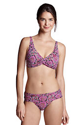 Women's Beach Living Paisley Twist Bikini Top