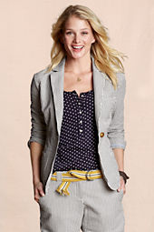 Canvas Women's Seersucker Blazer