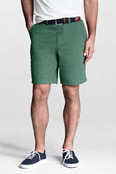 "Men's 9"" Plain Front Spring Chino Shorts"