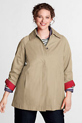 Women's Plus Size Swing Rain Parka