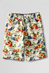 Boys' Floral Surf Camp Swim Trunks