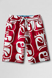 Toddler Boys' Large Pattern Surf Camp Swim Trunks
