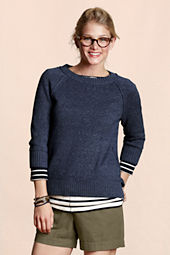 Canvas Women's Open Crew Raglan Sweater