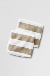 Luxe Essential Stripe Washcloths